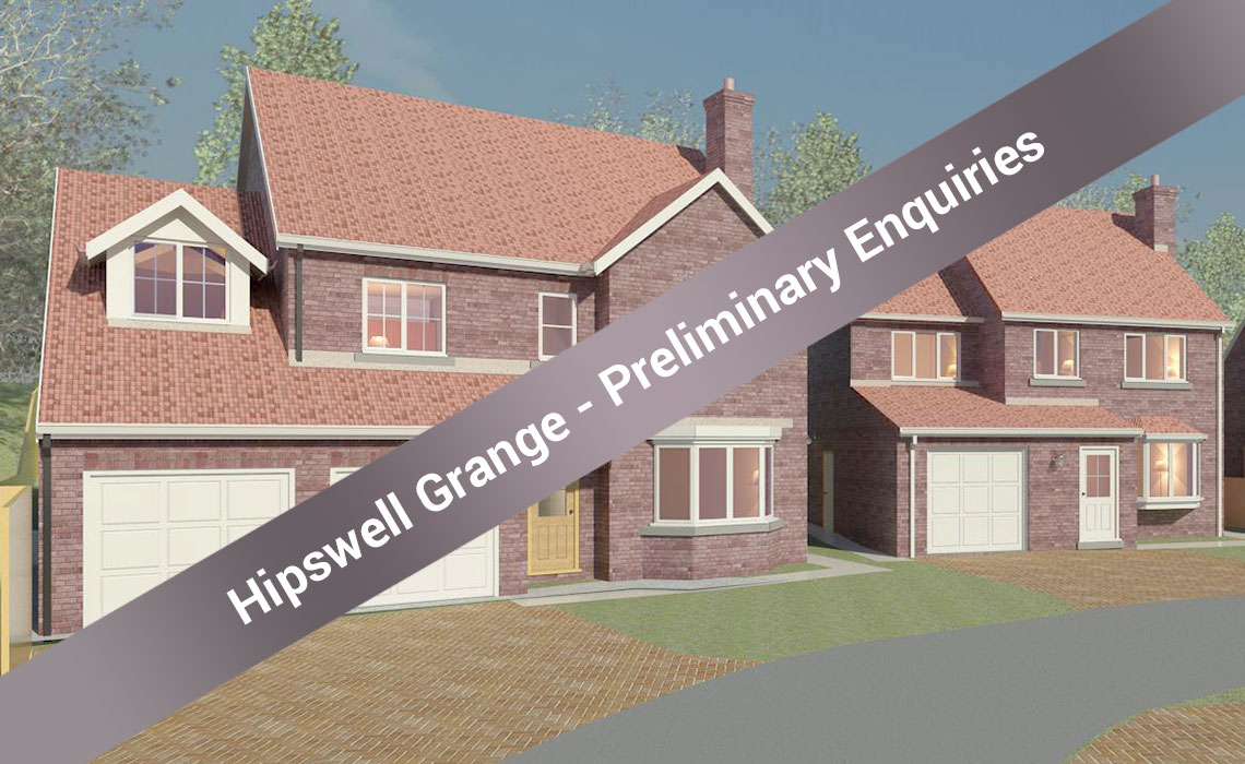Hipswell Grange development - SITE ACQUIRED